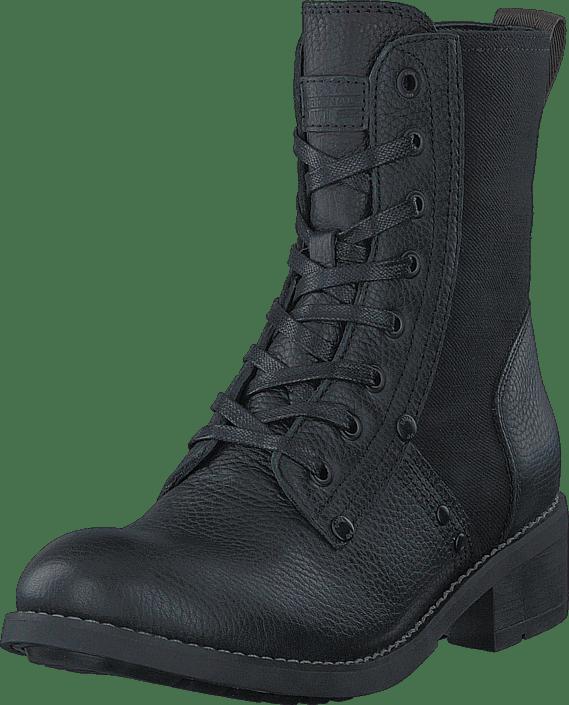 Labour Sko Kjøp Denim G Lth capter Online Military star Boots Sorte Raw Boot ttCOv