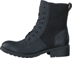 Labour Boot Military Lth/Capter Denim