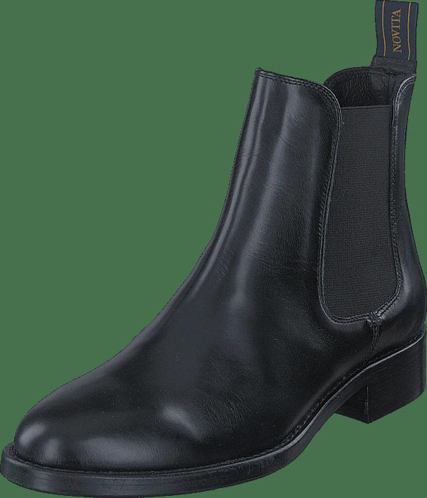 Trevisio Sorte Kjøp Black Online Sko Novita Boots Fwqzq5ZW