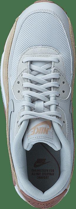 Nike Women's Air Max 90 Light BonePink White Beiga Skor