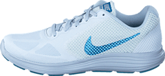Revolution 3 white/cerulean-pure Platinum