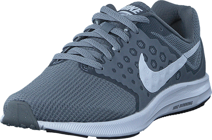73962ab05017 Buy Nike Downshifter 7 Wolf Grey white black blue Shoes Online ...