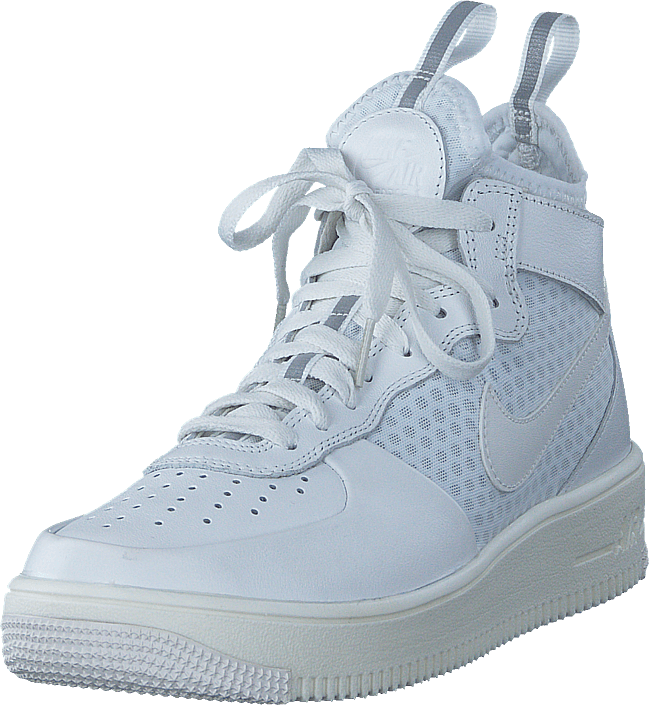 half off 968d2 e7a28 Nike - Air Force 1 Ultraforce Mid-top White pure Platinum White