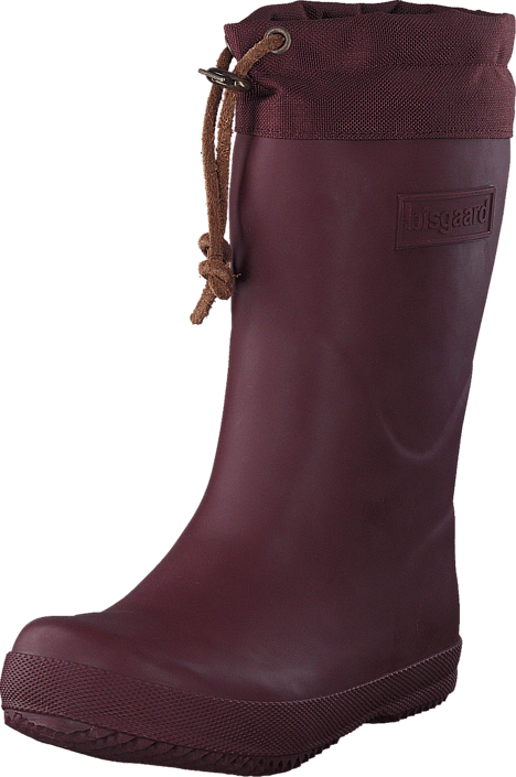 Rubber Boot Winter Thermo Bordeaux