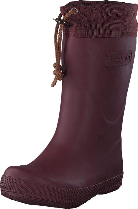 Bisgaard Rubber Boot Winter Thermo Bordeaux, Skor, Stövlar & Stövletter, Höga gummistövlar, Lila, Barn, 22
