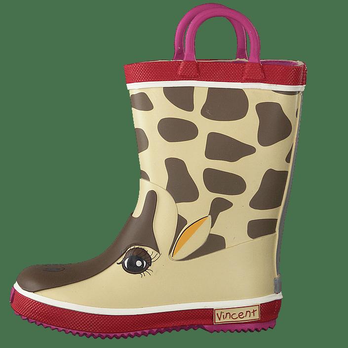 Köp Vincent Giraffe Pink Skor Online | FOOTWAY.se