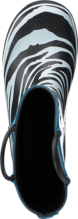Zebra Gold Blue