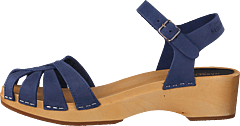 Cross Strap Debutant Blue Nubuck