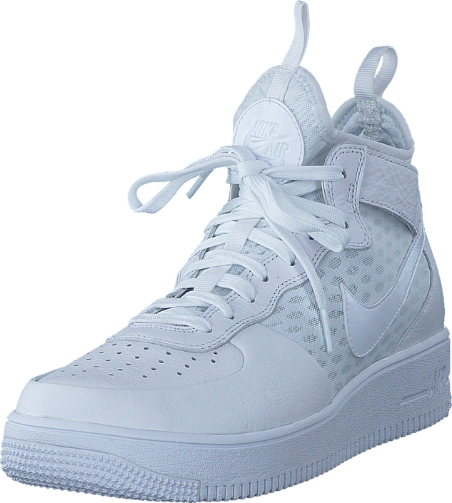 detailed look 60164 1d2e7 Nike - Air Force 1 Ultraforce Mid White white-white
