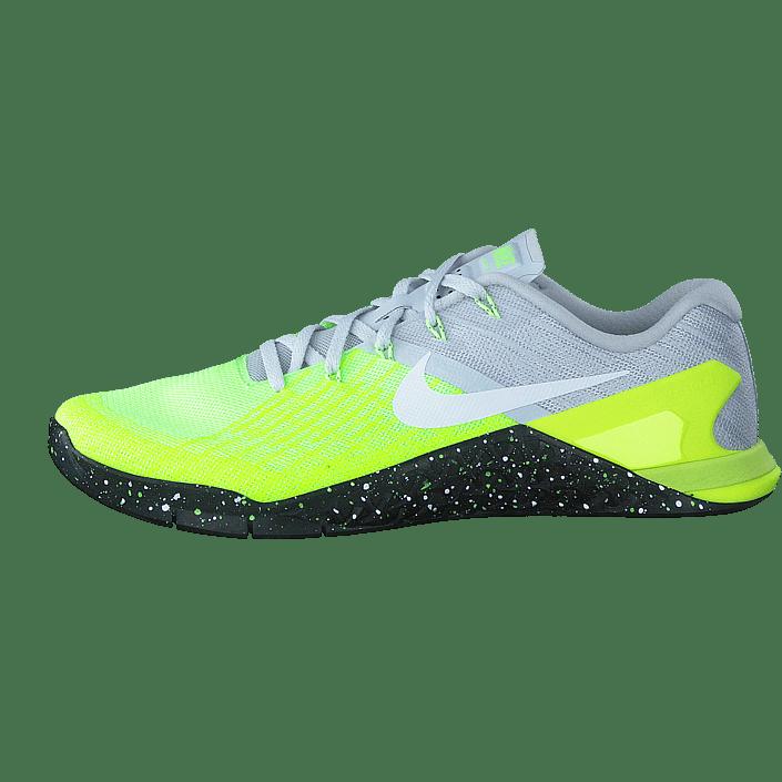 Osta Nike Metcon 3 Training Pure PlatinumblackvoltGreen