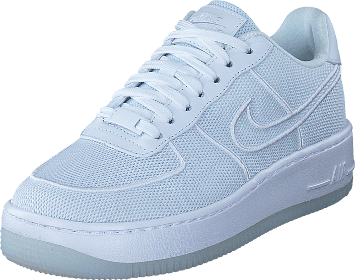 NBA x Nike Air Force 1 Low GulSortHvid BV1168 700 | Sko