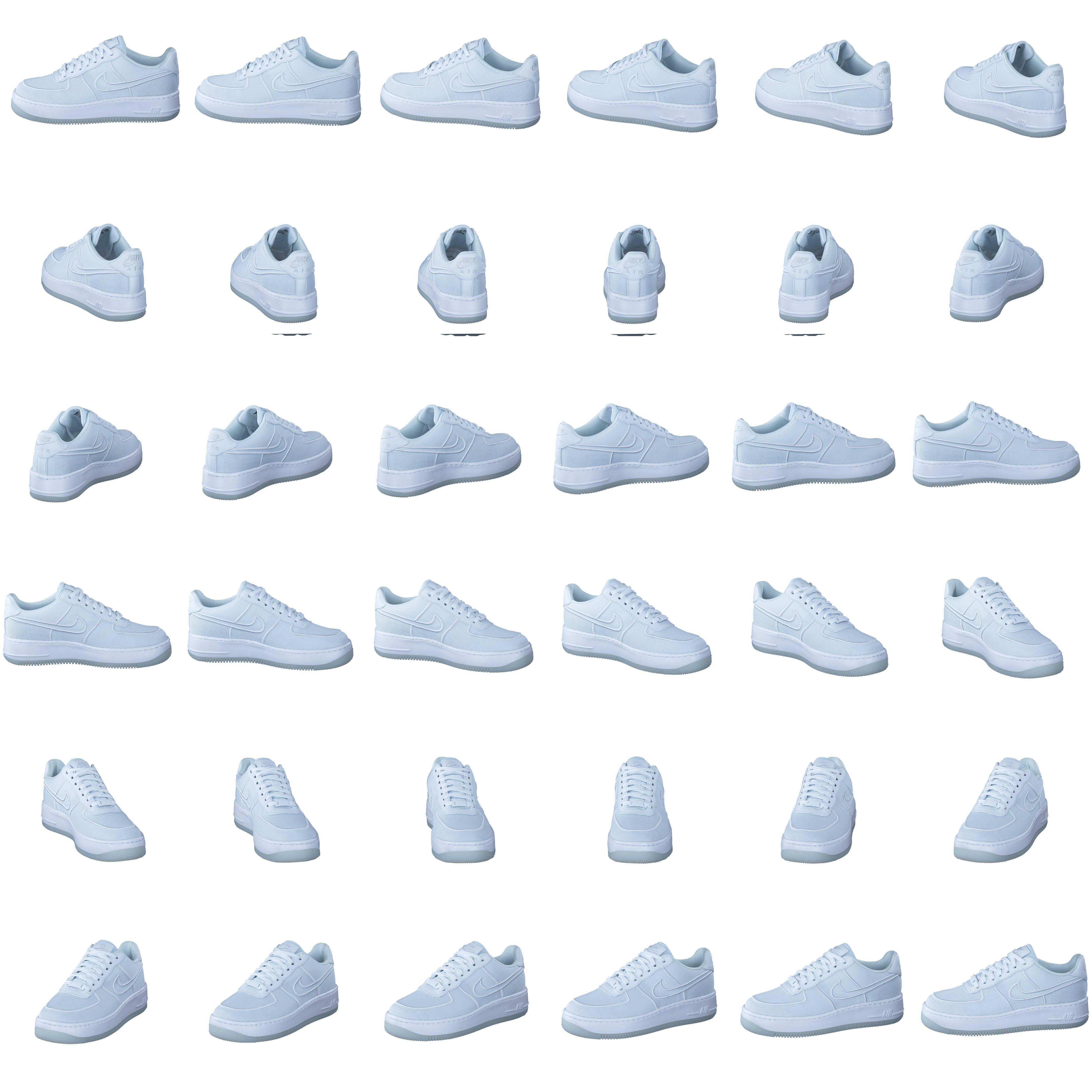 factory price 456ae 3b226 Köp Nike Air Force 1 Low-top Upstep Br White white-glacier Blue vita Skor  Online   FOOTWAY.se