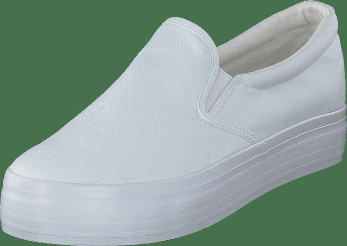 Duffy Hvite White Flats 95 Online Kjøp Sko 17522 dIwzIP