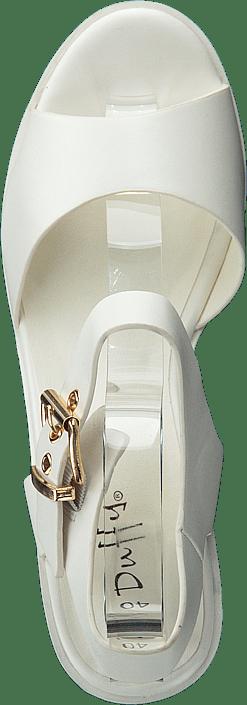 Kjøp Duffy 97-29500 White Sko Online