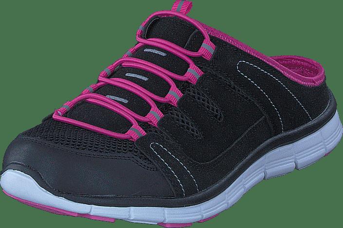 Polecat - 435-1309 Comfort Sock Black/Fuchsia