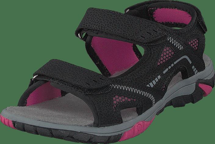 413-4621 Black/Fuchsia