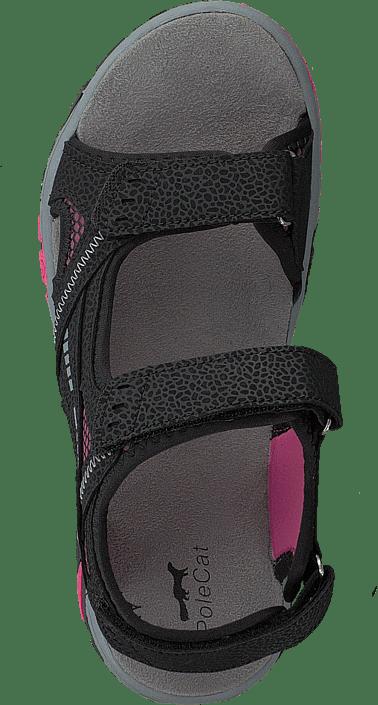 Kjøp Polecat 413-4621 Black/fuchsia Sko Online