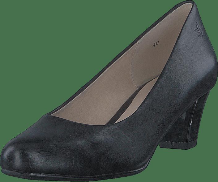 Caprice Online Cristel Kjøp Nappa Black Sorte Sko Heels TOBzxw