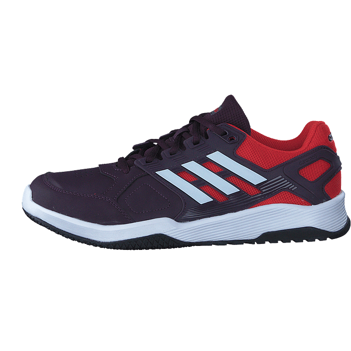 hot sale online 09404 cc5e3 Buy adidas Sport Performance Duramo 8 Trainer M Noble RedWhiteHi-Res Red  purple Shoes Online  FOOTWAY.co.uk