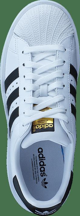 kaufen adidas originals superstar kühne w ftwr weiße / kern schwarz / gold erfüllt