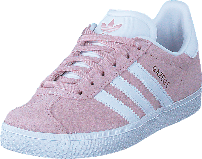 f6f277464be Buy adidas Originals Gazelle C Icey Pink F17 White Gold Met pink ...