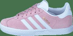 meet 05b3e a0d2d adidas Originals - Gazelle C Icey Pink F17 White Gold Met