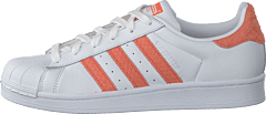 Superstar W Ftwr White/ChalkCoral/OffWhite