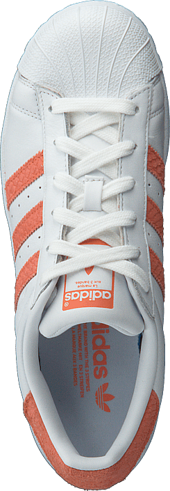 adidas Originals - Superstar W Ftwr White/ChalkCoral/OffWhite