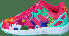 sports shoes 84b78 5710f adidas Originals - Zx Flux El I Real Pink S18 Ftwr White
