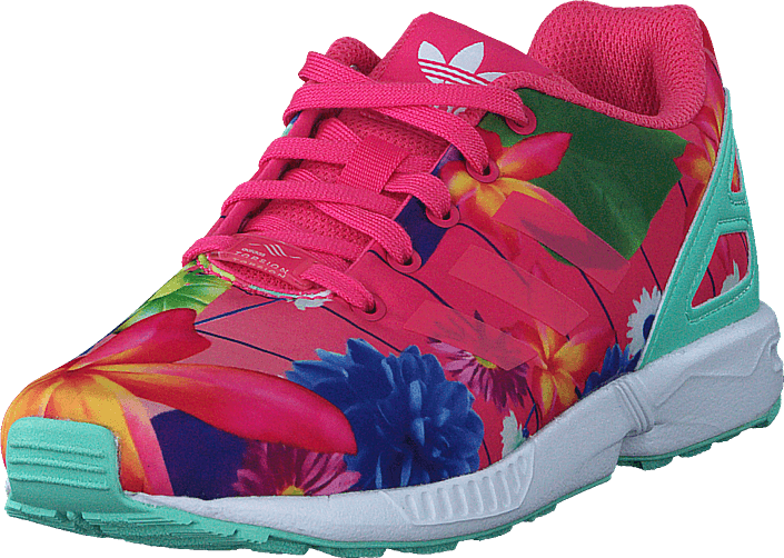 333de46bd Buy adidas Originals Zx Flux C Real Pink S18 Ftwr White turquoise ...