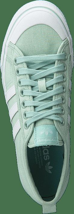 adidas Originals - Nizza W Ash Green S18/Ftwr White