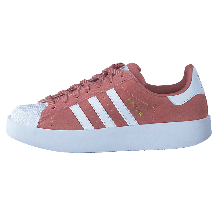 cheap for discount a0cf8 a52df Buy adidas Originals Superstar Bold W Ash Pink S15 Ftwr Wht Gold Met pink  Shoes Online   FOOTWAY.co.uk