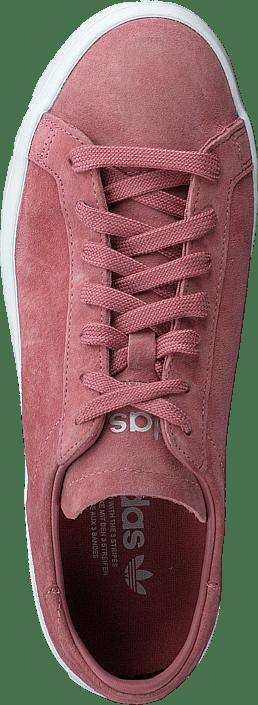new style a7a17 a5d6a adidas Originals - Courtvantage W Ash PinkOff WhiteAsh Pink
