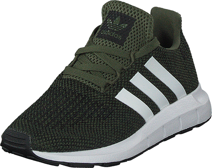 adidas Originals - Swift Run C Base Green/White/Core Black