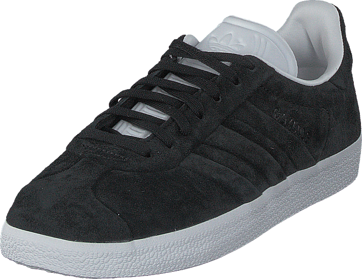 buy popular f1d7b 3ac7d adidas Originals - Gazelle Stitch And Turn Core BlackFtwr White