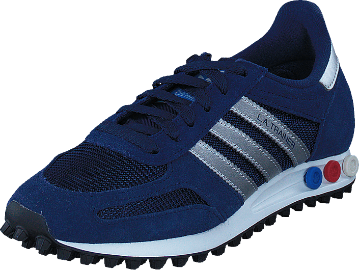 adidas Originals - La Trainer Dark Blue/Met Silver/Dark Grey