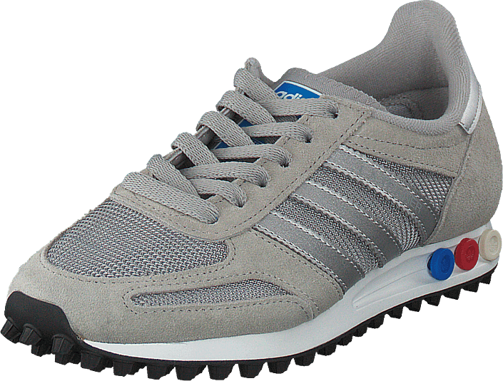 Adidas Sko Grey Mgh Sportsko La Solid Kjøp Sneakers Originals Online Og metsilver Grå white Trainer 4dqxRw