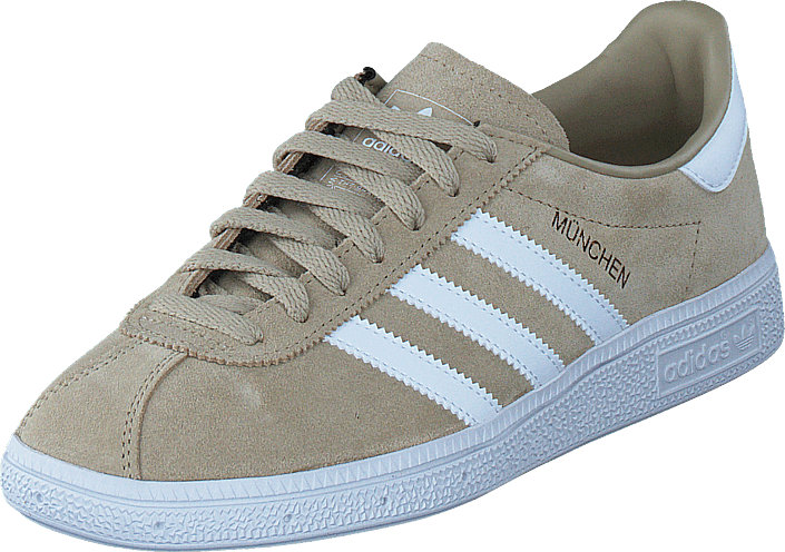 adidas Originals - Munchen Raw Gold/Ftwr White/Gold Met