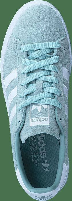 adidas originals CAMPUS ASH GREEN S18ftwr whiteftwr white