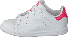 Stan Smith I Ftwr White/Real Pink S18