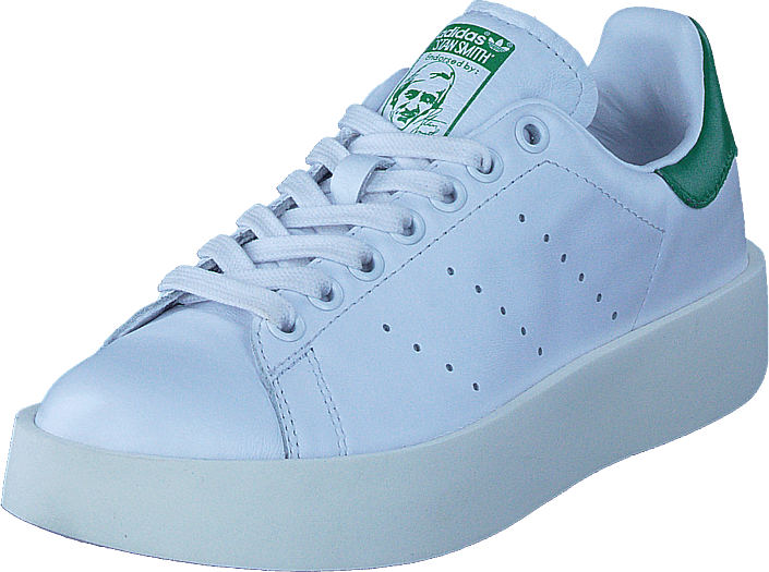 adidas Originals - Stan Smith Bold W Ftwr White/Ftwr White/Green