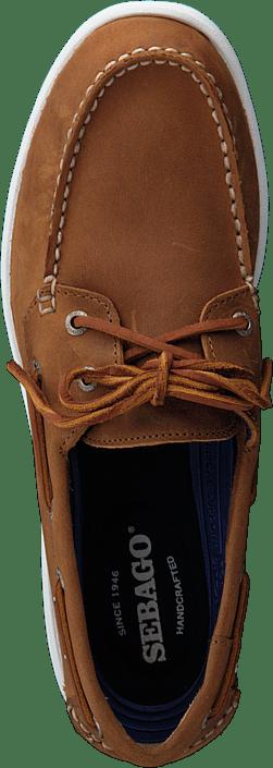Kjøp Sebago Litesides Two Eye Med Brown Leather Sko Online
