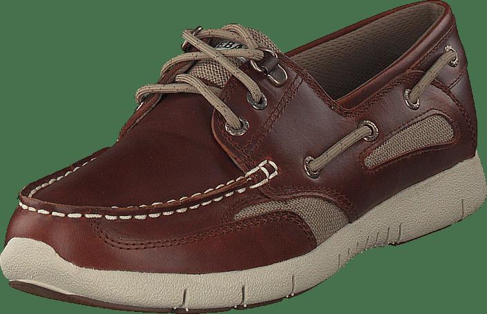 Osta Sebago Clovehitch Lite Brown Oiled Leather ruskeat Kengät ... 523082eb54
