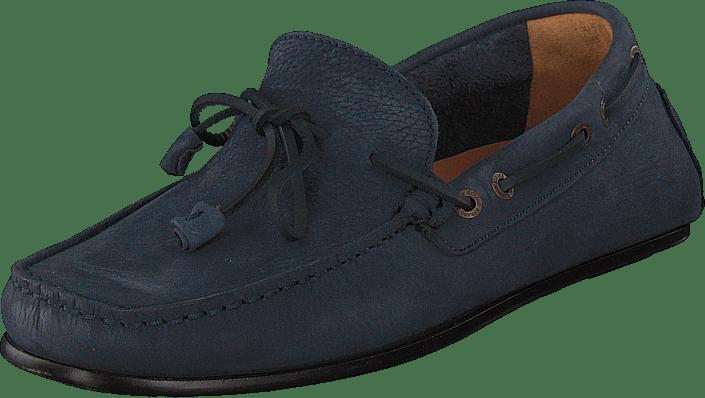 Sebago - Tirso Tie Navy Tumbled Nbk