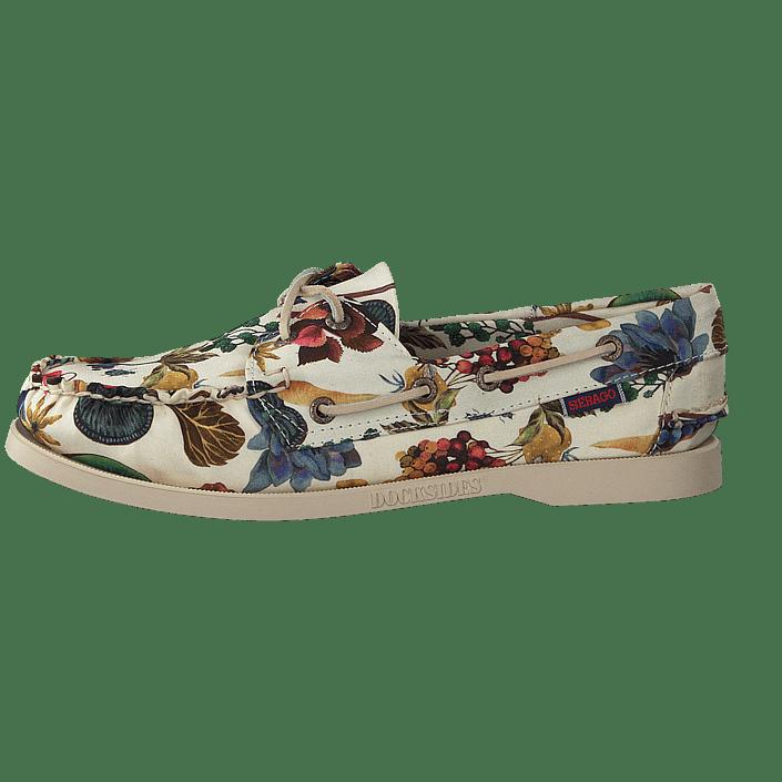 bbef77a99386a Buy Sebago Docksides Floral Earth Print brown Shoes Online | FOOTWAY.co.uk