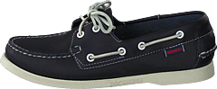 Docksides Blue Nite Leather