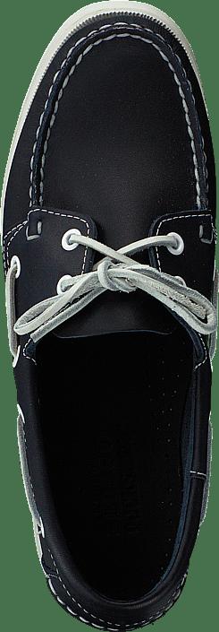 Kjøp Sebago Docksides Blue Nite Leather Sko Online