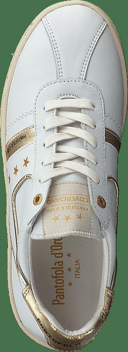 Pantofola Bright Sportsko Low White D'oro Sko Covericiano Kjøp Online Og Donne Hvite Sneakers pTc7qXpd