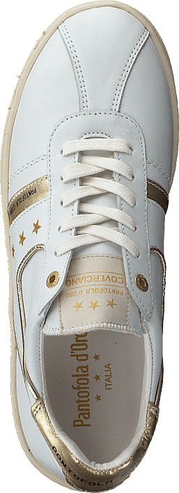 Pantofola d'Oro - Covericiano Donne Low Bright White