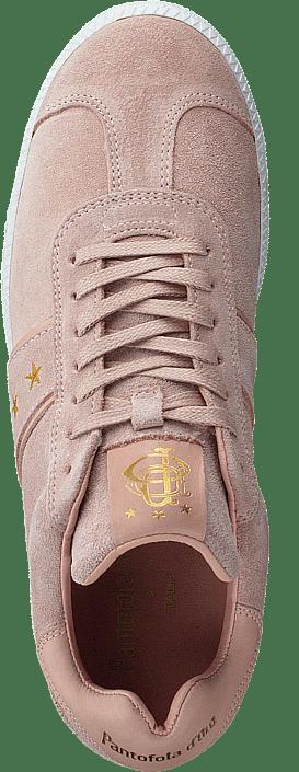 Kjøp Berletta Sneakers D'oro Sportsko Donne Online Nude Og Sko Pantofola Rosa Suede ESrnzaZSTq